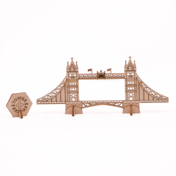 Tower Bridge Wooden Push Out Model 2