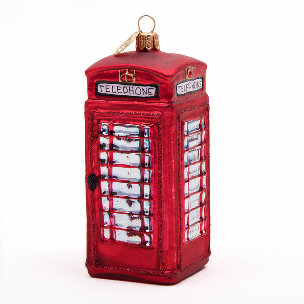 Brink Nordic Telephone Box Christmas Decoration 1