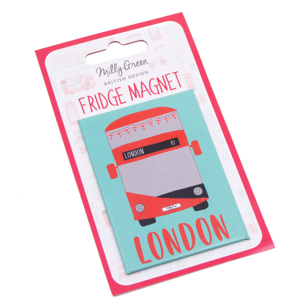 London Adventures Bus Magnet 2
