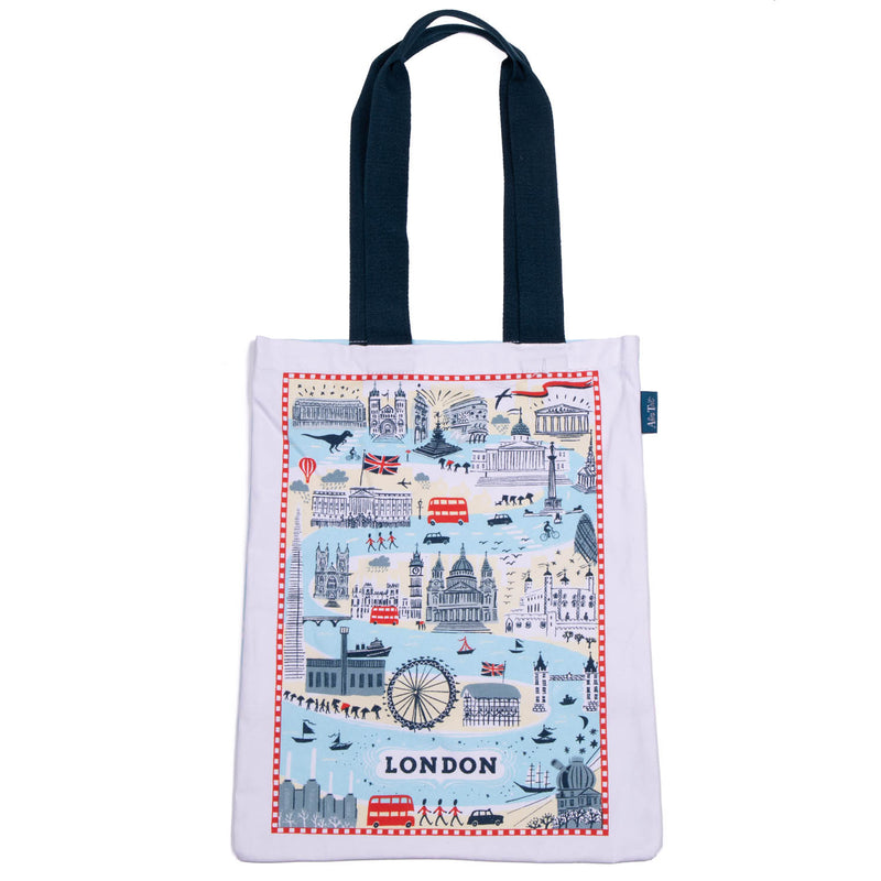 Alice Tait Forever London Cotton Tote Bag