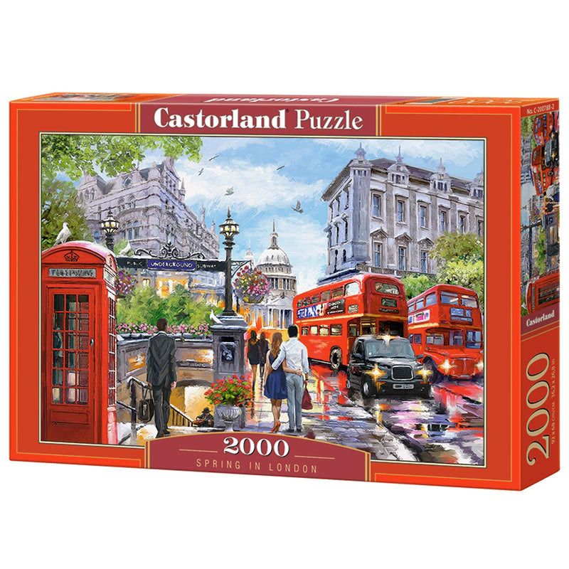 Spring in London 2000 Piece Puzzle 1