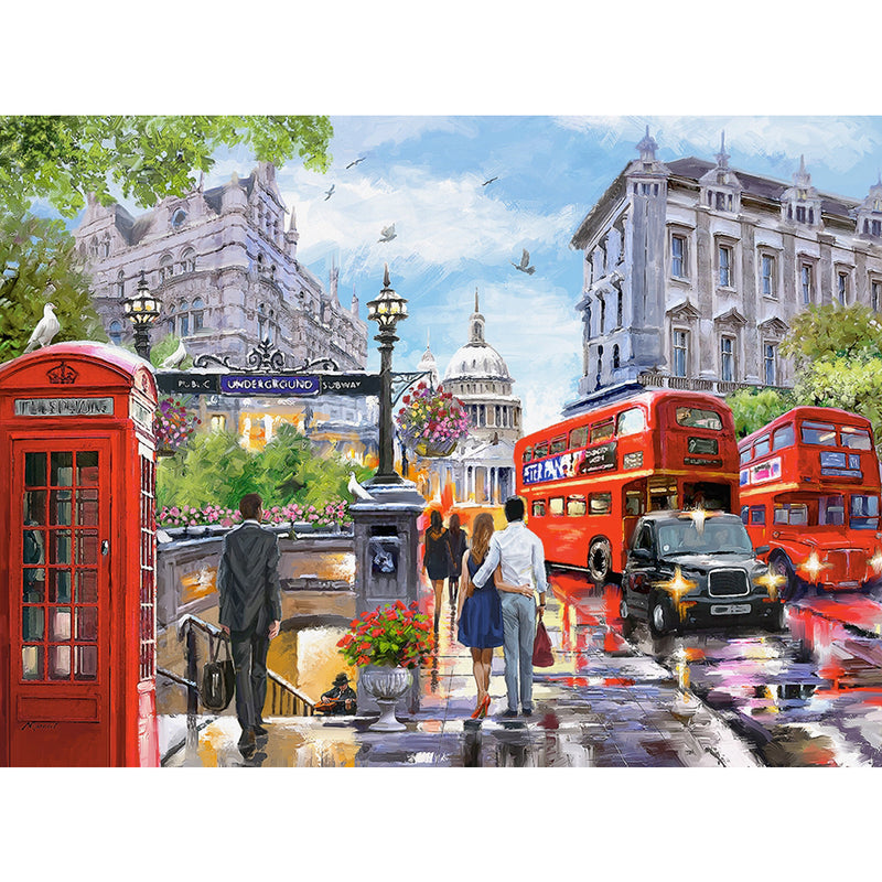 Spring in London 2000 Piece Puzzle 2