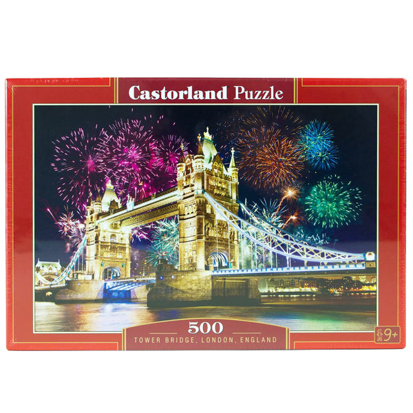 Tower Bridge 500 Piece Puzzle