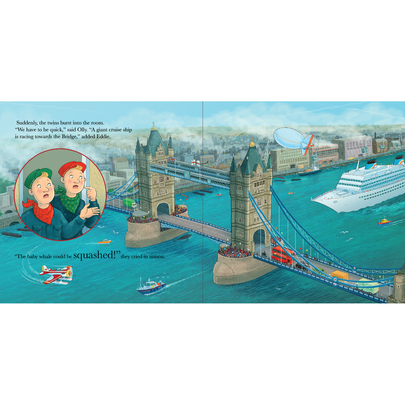 Tower Bridge Cat and The Baby Whale Book