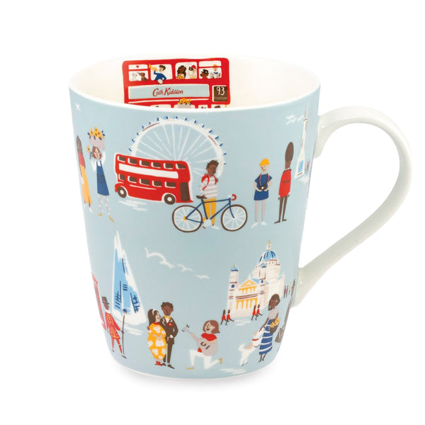 Cath Kidston London People Stanley Mug - Blue