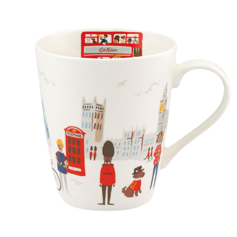 Cath Kidston London People Stanley Mug - Cream