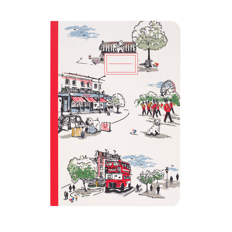 Cath Kidston Billie Goes To Town A5 Notebook 1