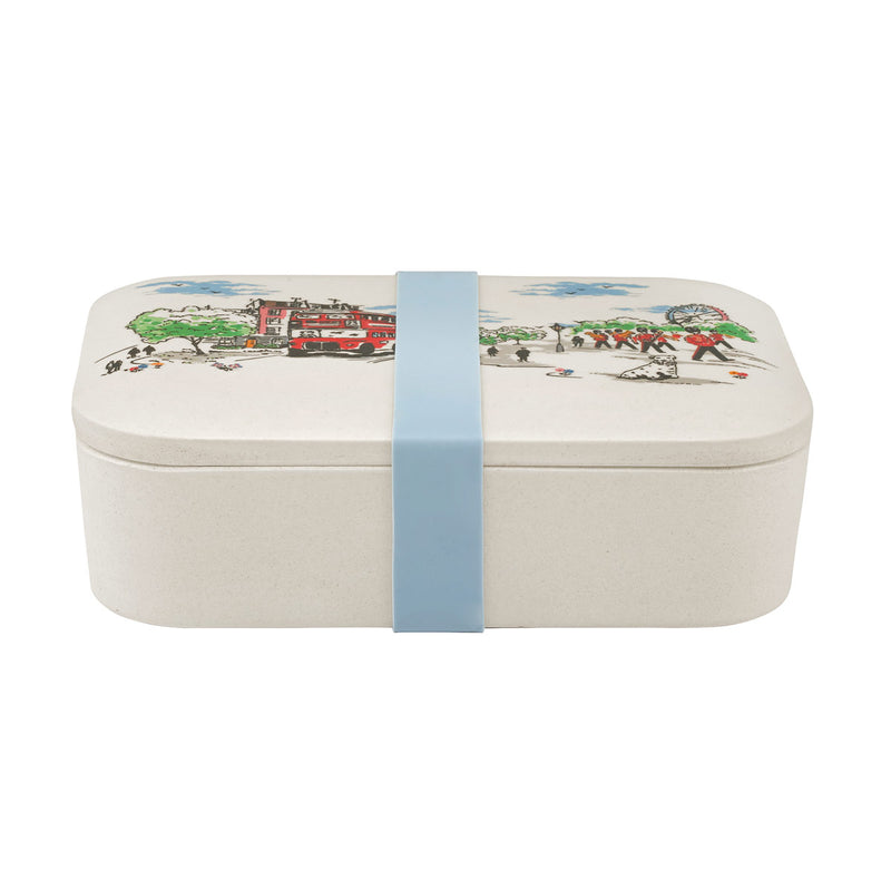 Cath Kidston Billie Goes To Town Bamboo Lunch Box 1