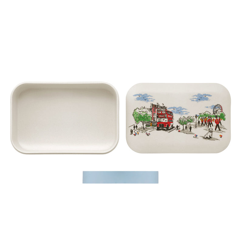 Cath Kidston Billie Goes To Town Bamboo Lunch Box 2