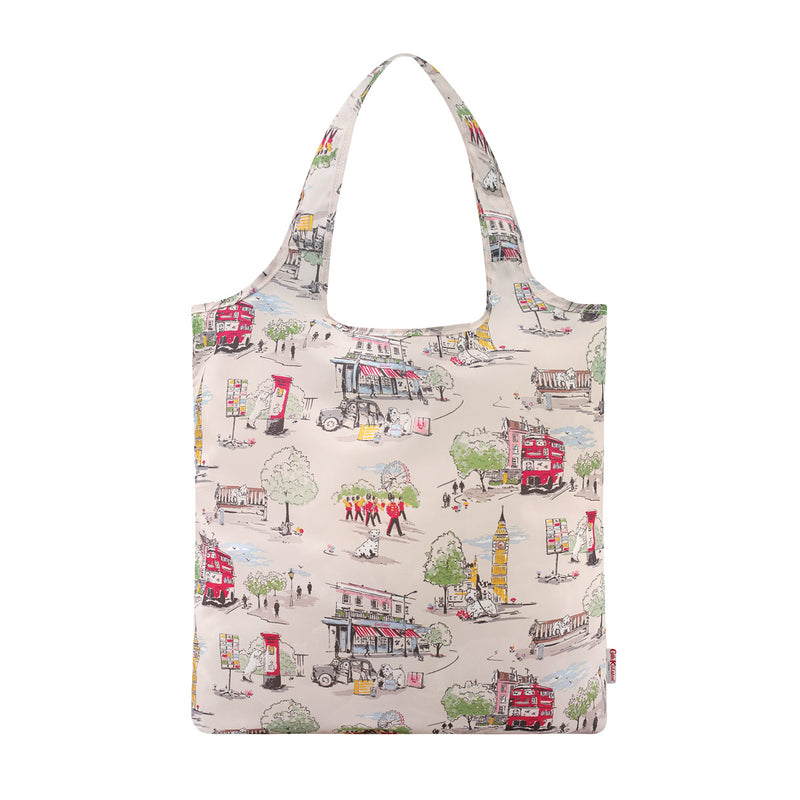 Cath Kidston Billie Goes To Town Foldaway Shopper Bag 1