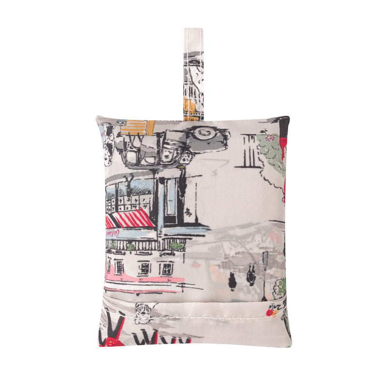 Cath Kidston Billie Goes To Town Foldaway Shopper Bag 2