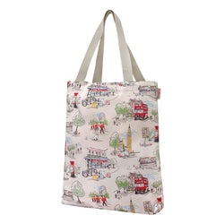 Cath Kidston Billie Goes To Town Foldaway Tote Bag 1