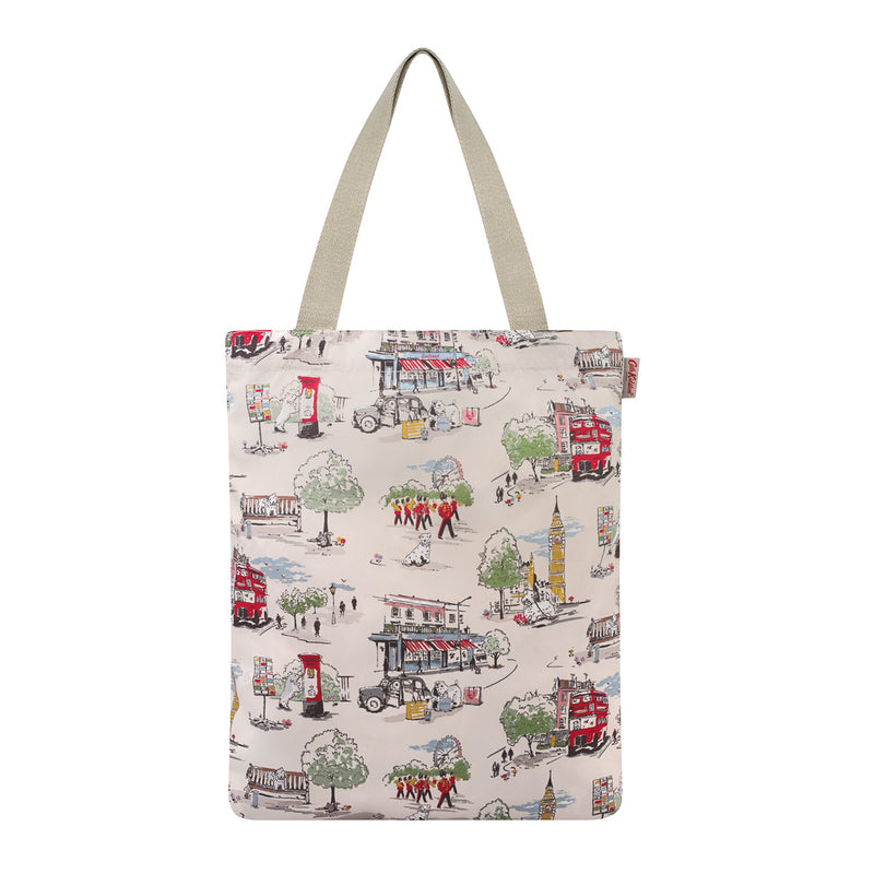 Cath Kidston Billie Goes To Town Foldaway Tote Bag 3