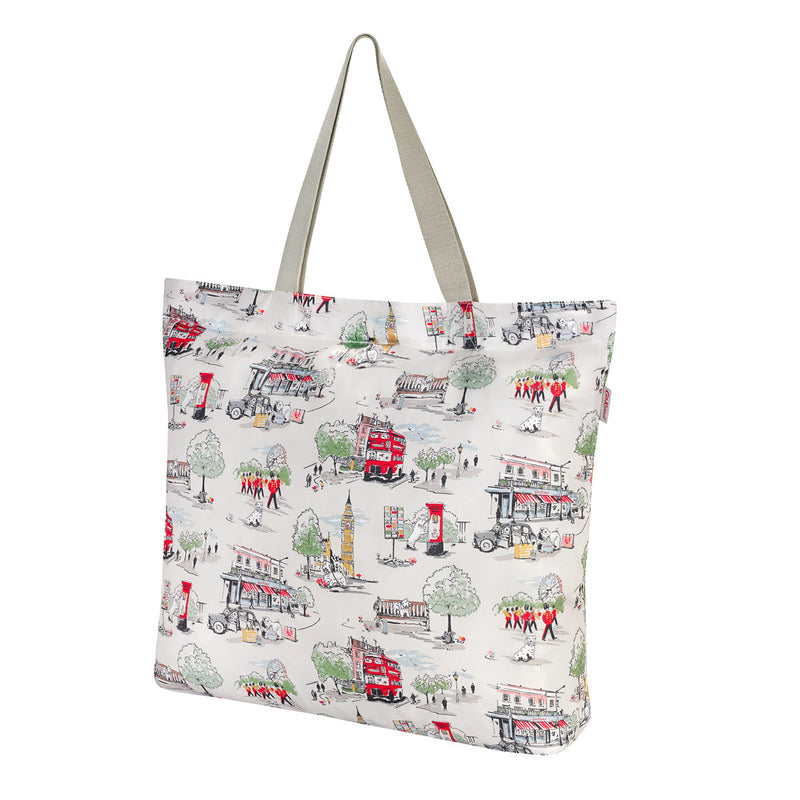 Cath Kidston Billie Goes To Town Large Foldaway Tote Bag 1