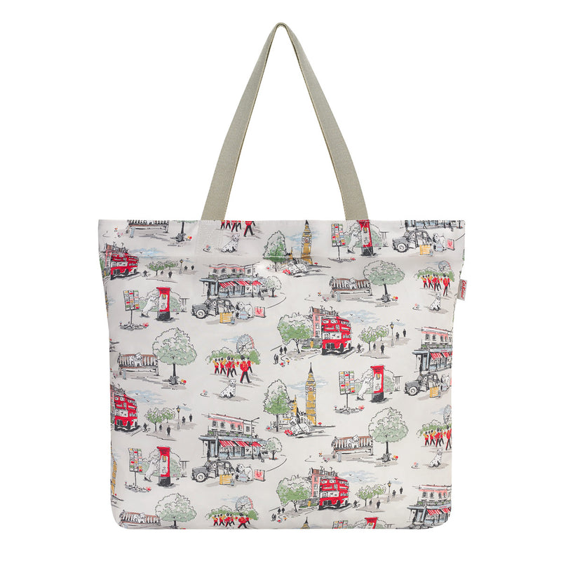 Cath Kidston Billie Goes To Town Large Foldaway Tote Bag 3