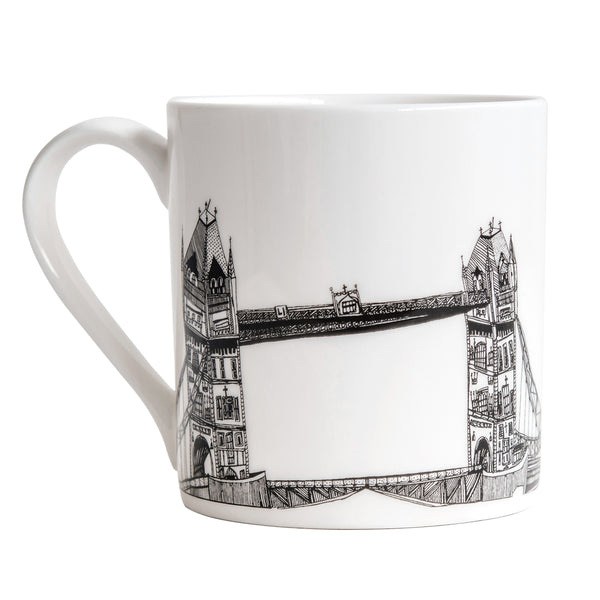 Cecily Vessey Tower Bridge Mug 01