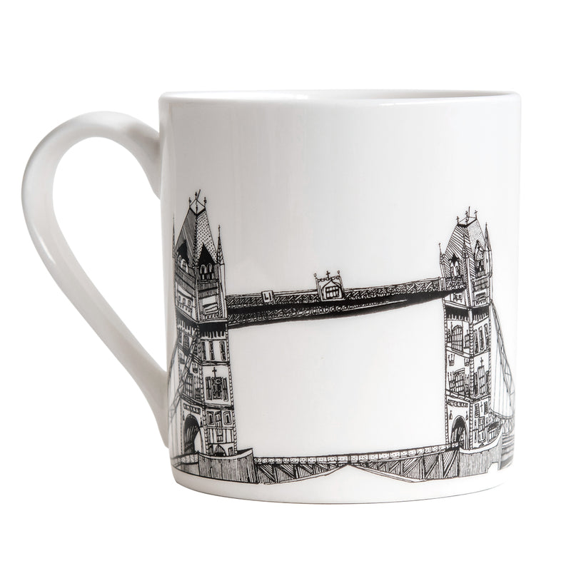 Cecily Vessey Tower Bridge Mug 1