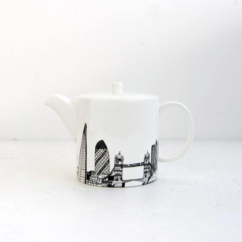 Cecily Vessey London Skyline Tea Pot