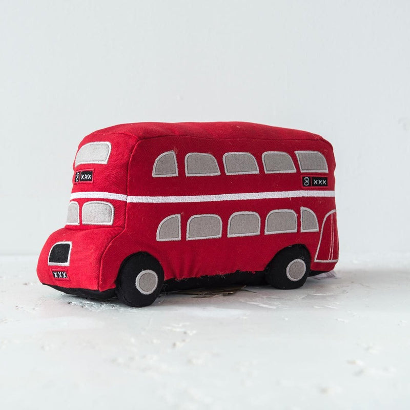 Dora Designs London Double Decker Bus Doorstop 2
