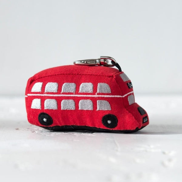 Dora Designs London Double Decker Bus Keyring 2