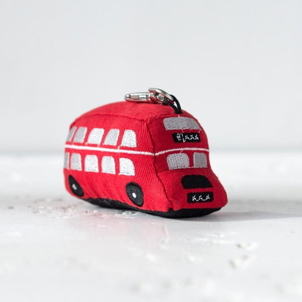 Dora Designs London Double Decker Bus Keyring 1