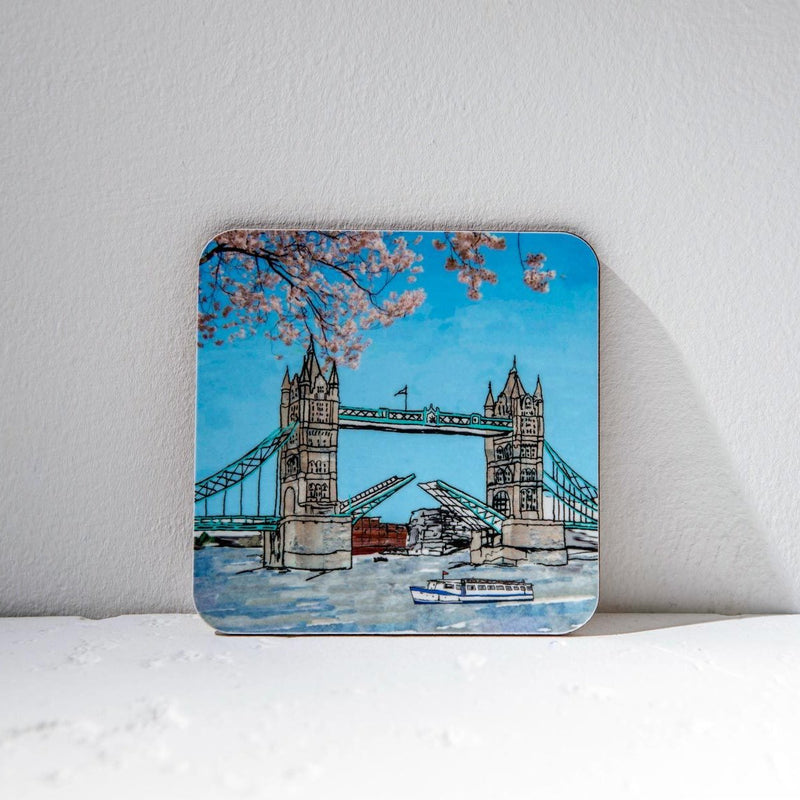 Emmeline Simpson Tower Bridge Coaster 1