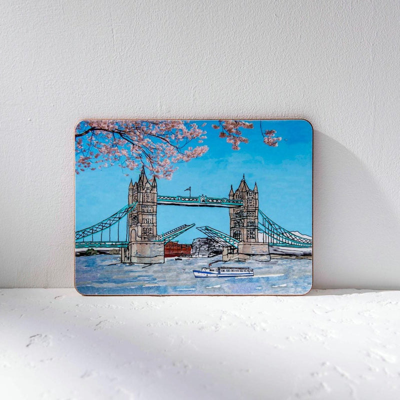 Emmeline Simpson Tower Bridge Placemat