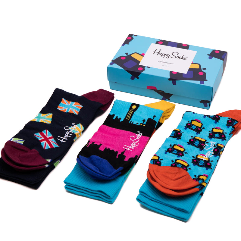 Happy Socks London Taxi Gift Box 1
