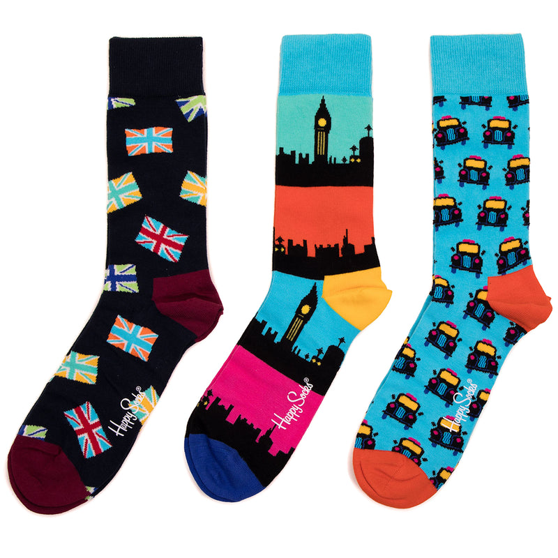 Happy Socks London Taxi Gift Box 2