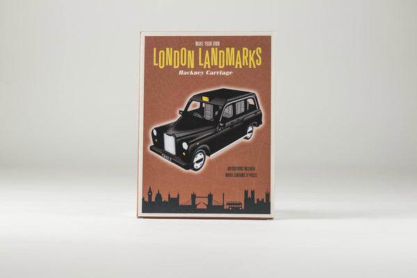 Make Your Own London Landmarks - Hackney Carriage - 3D Model 01