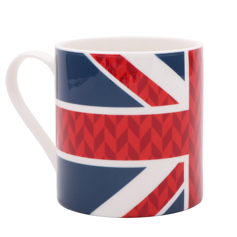 Jacks & Co Union Jack Flag Mug