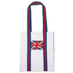 Jacks & Co Union Jack Cotton Canvas Tote Bag