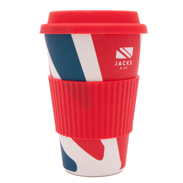 Jacks & Co Union Jack Bamboo Travel Mug