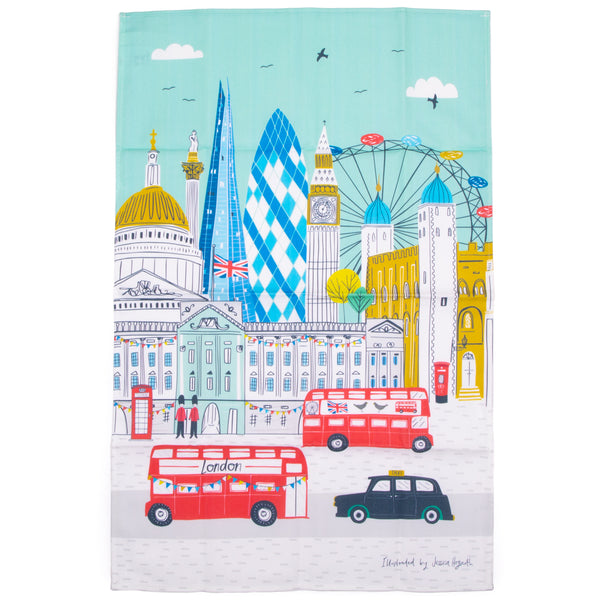 Jessica Hogarth Skyline Tea Towel 1