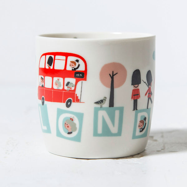 Little Red Bus Mug In Box 2