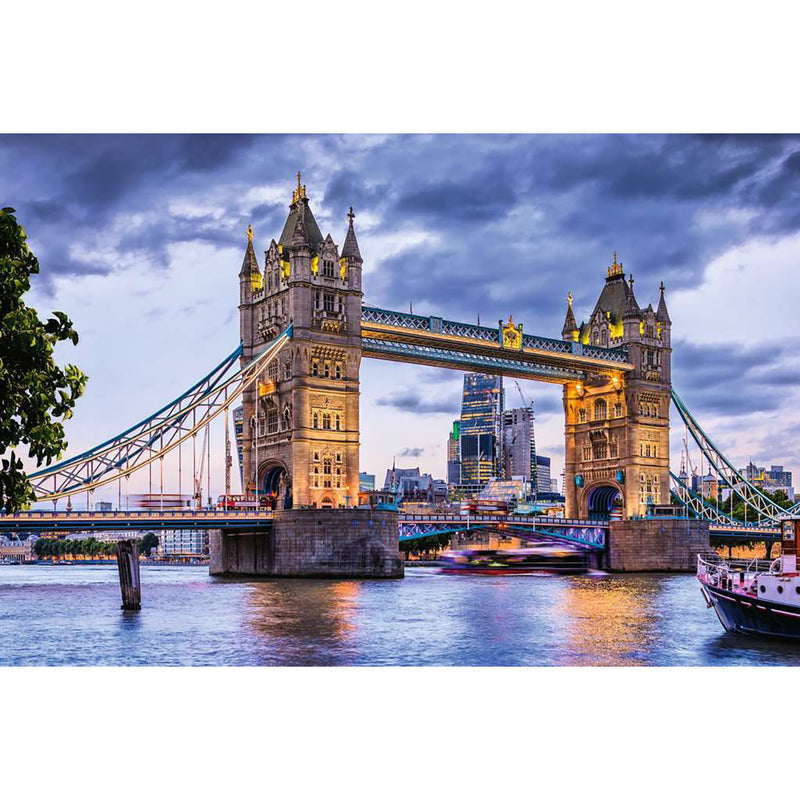 Looking Good London - 3000 Piece Puzzle assembled