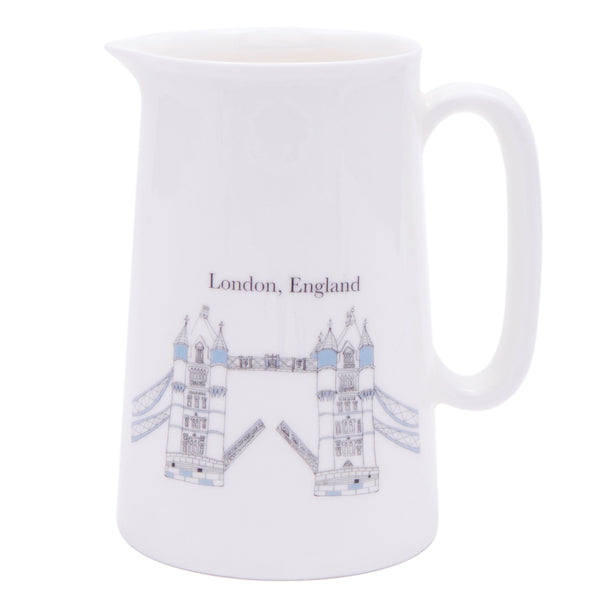 Mandy Billington Full Pint Jug - Tower Bridge