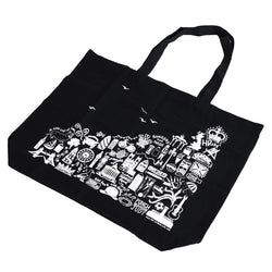 Martha Mitchell British Black Tote Bag 1
