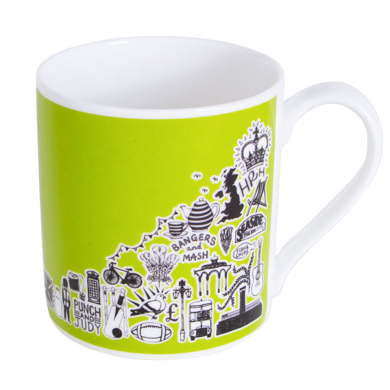 Martha Mitchell British Mug - Green 1