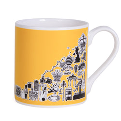 Martha Mitchell British Mug - Yellow 1