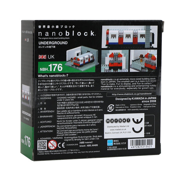 Nanoblock Underground Train Model 2