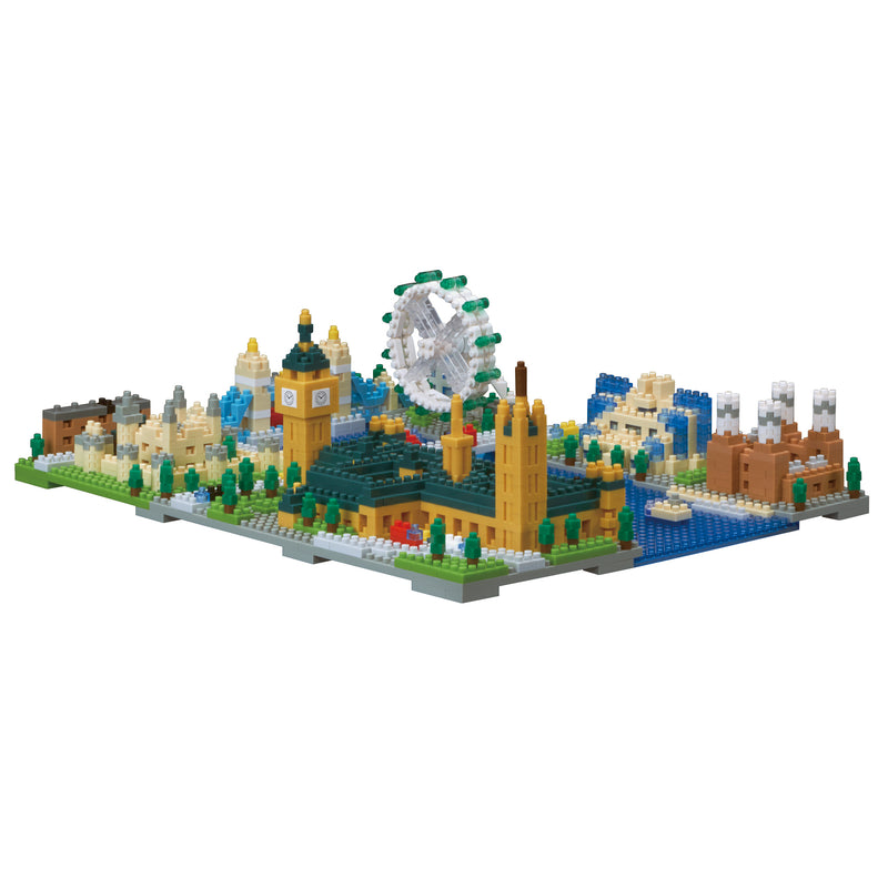 Nanoblock London Scene Model
