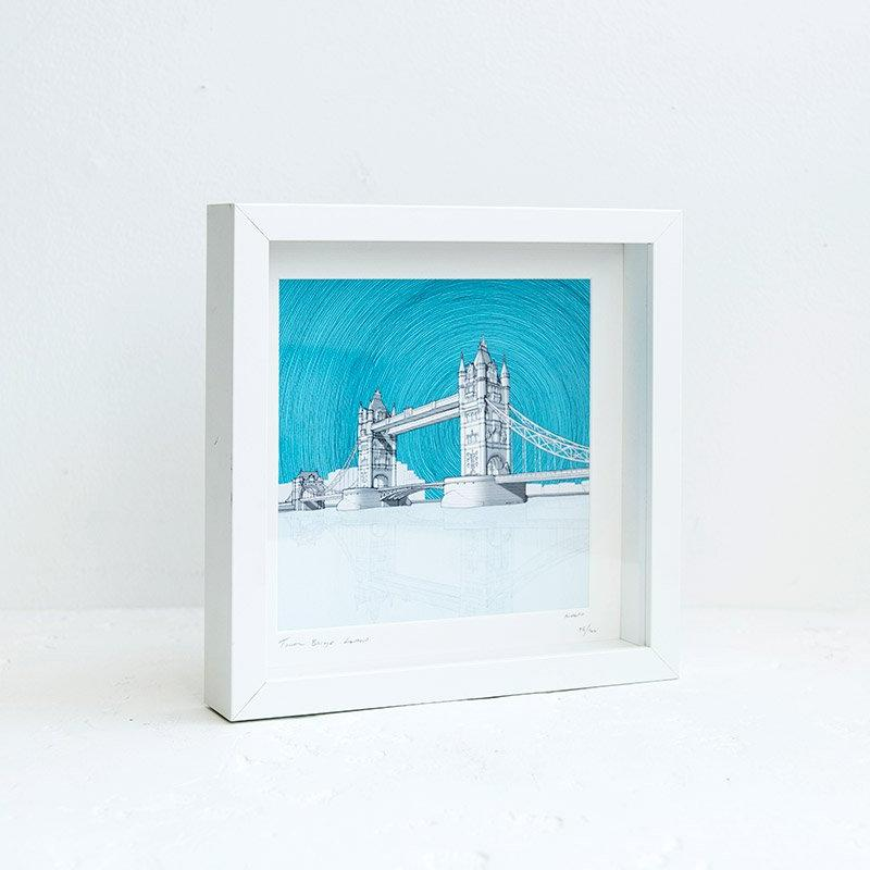 Pitch26 Tower Bridge Framed Print 02