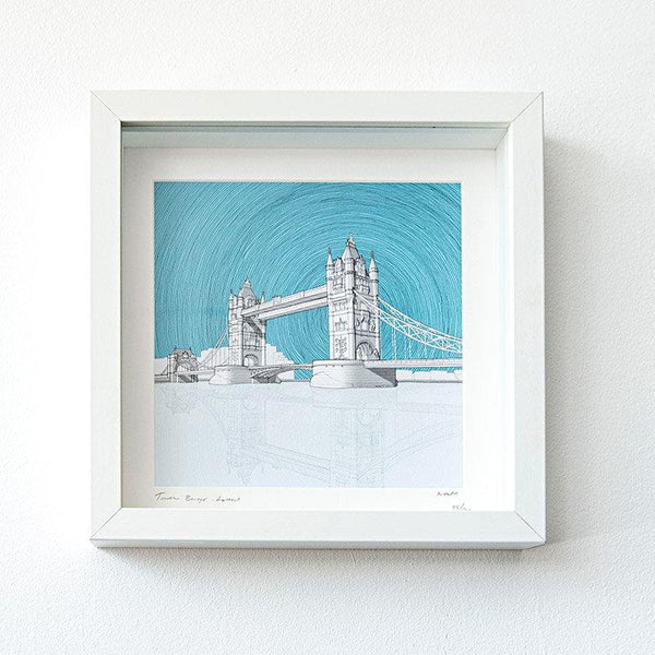 Pitch26 Tower Bridge Framed Print 01