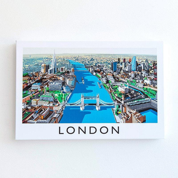 Richard O'Neill Thames London Canvas Print 02