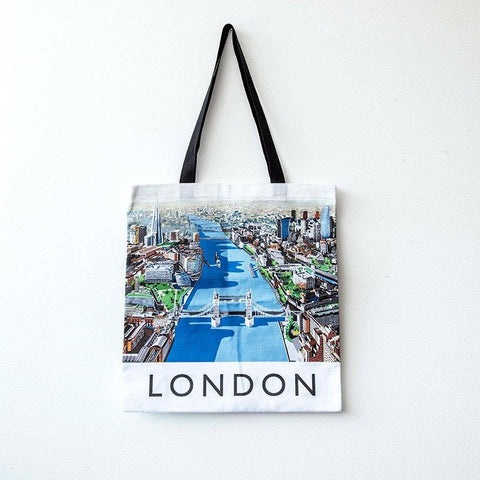Richard O'Neill Thames London Tote Bag 02