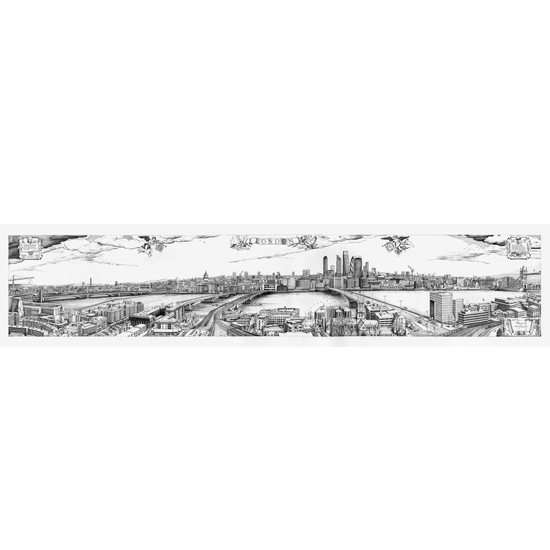Robin Reynolds London Redrawn Panorama Print 1