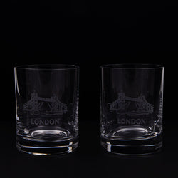 Round Dram Glasses Pair 1