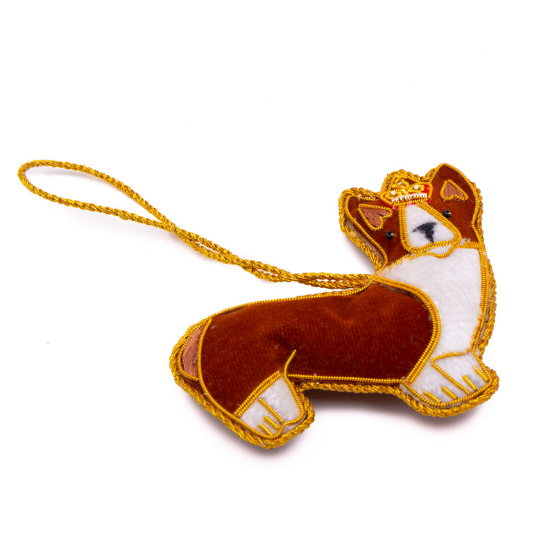 Standing Corgi Dog Christmas Decoration 2