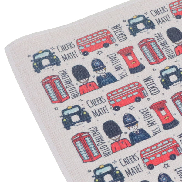To Home From London Placemat - British Icons 2